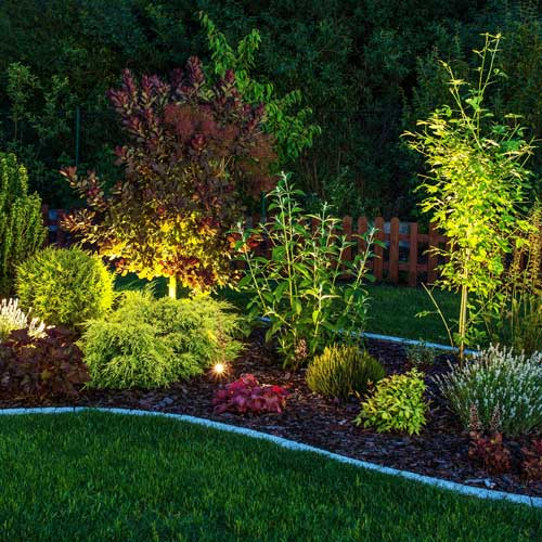 Garden Night Landscape Lighting